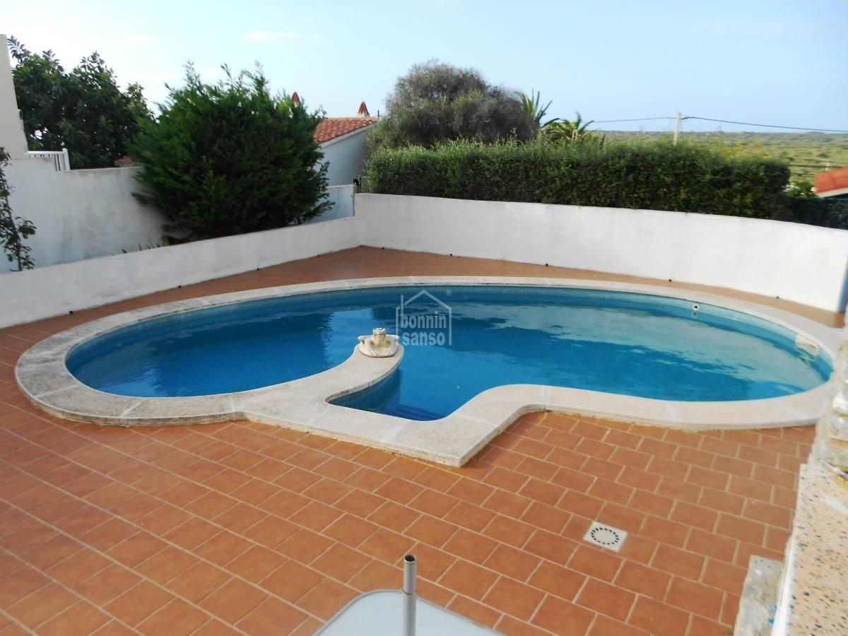 Comprar chalet con piscina en calan porter menorca 21529 - Chalet con piscina ...