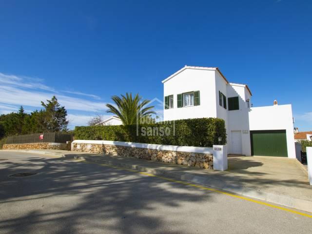 Atractivo chalet en Addaya con vistas al mar,Menorca