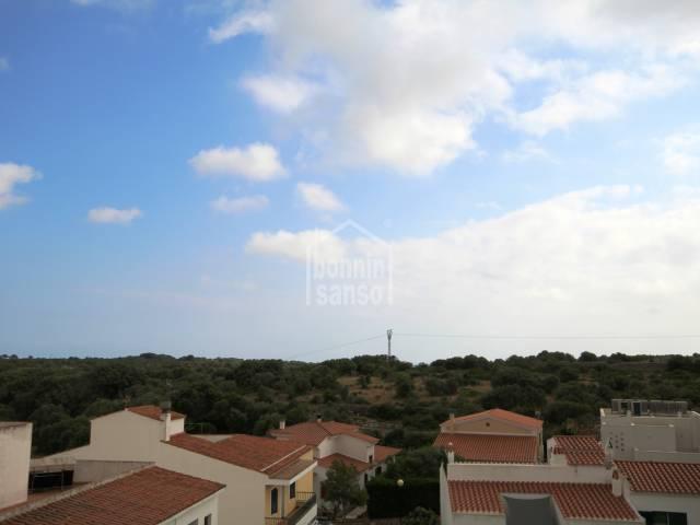 Precioso apartamento con vistas al campo en Es Migjorn, Menorca