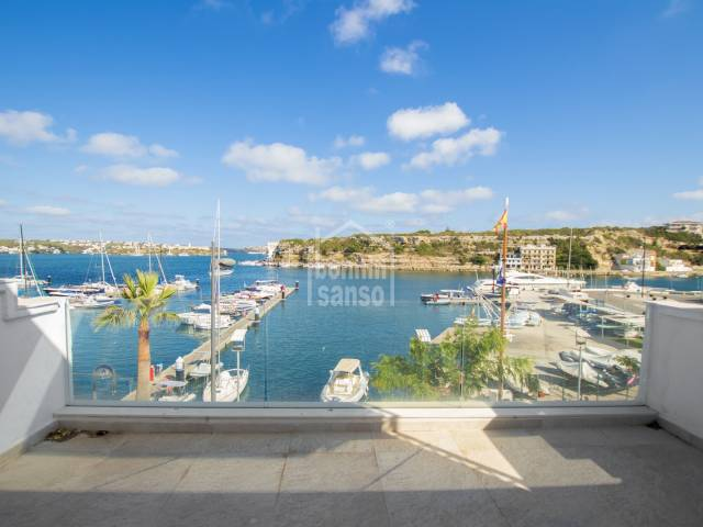 Casa 1ª línea en el Puerto de Maó con garaje (Menorca)