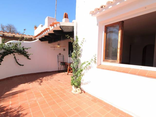 Ground floor apartment in Cap d'Artrutx, Menorca.