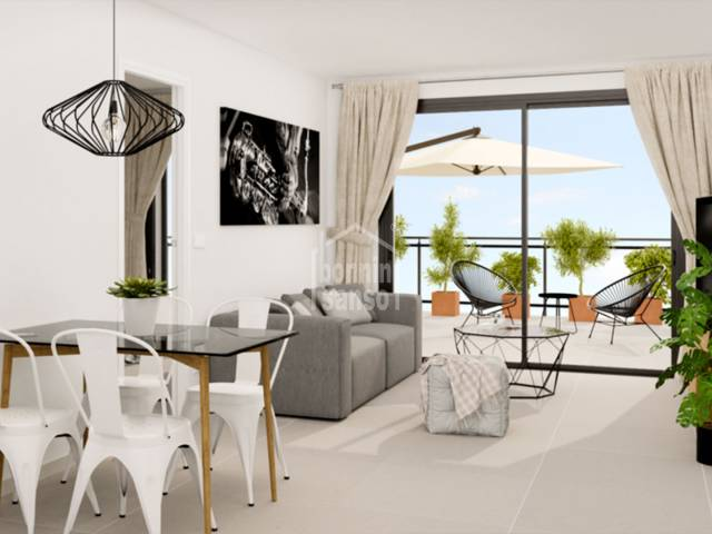 Modern new build apartment in Sa Coma, 10 minutes from the Beach, Mallorca