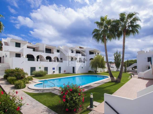 Refurbished apartment with tourist licence in Son Parc, Menorca
