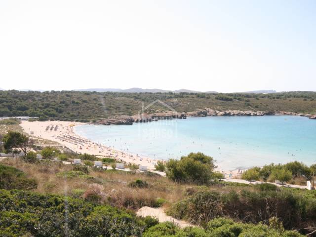 Attractive ground floor apartment with sea views and near the beach situated in an attractive complex in Son Parc Menorca