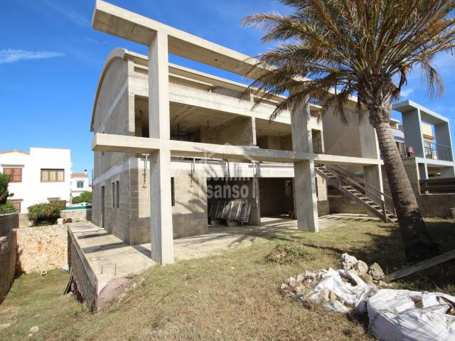 Great Investment of 2 villas on the Seafront of Son Oleo, Ciutadella, Menorca