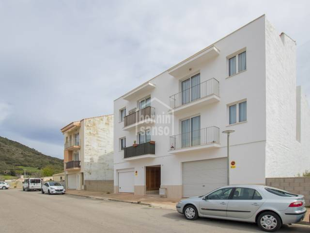 Newly built first floor flat in Ferrerias, Menorca