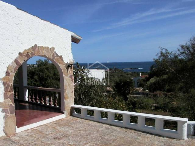 Villa with sea views in Cap den Font