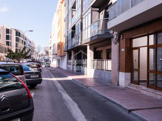 Commercial premises in the Avenida Menorca area of Mahon