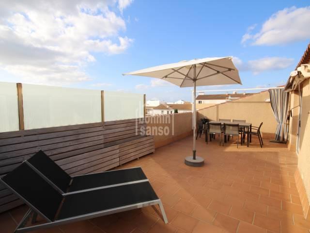 Modern Penthouse in Ciutadella, Menorca
