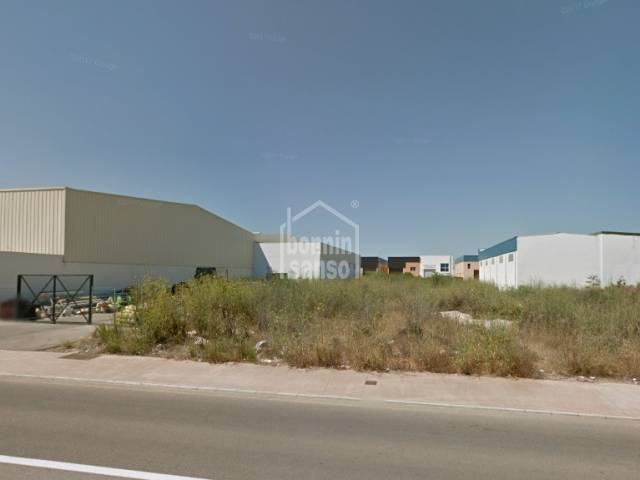 Plot of land in the industrial estate of San Luis, Menorca