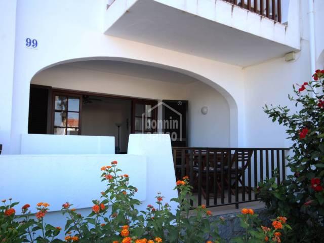Apartamento en planta baja en Calan Porter, Menorca
