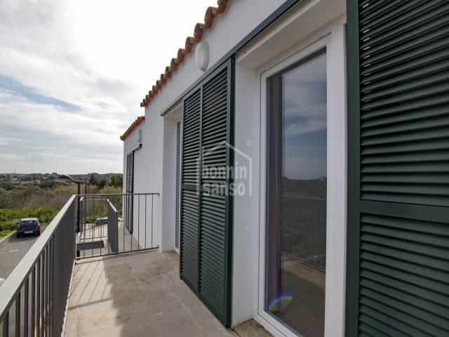 House of new construction to rent in Sant Lluis, Menorca