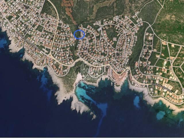 Plot of land in the beautiful coastal resort Binibeca, Menorca