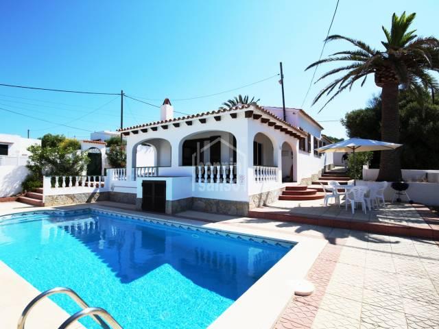 Acogedora propiedad en Calan Porter, al sur de Menorca