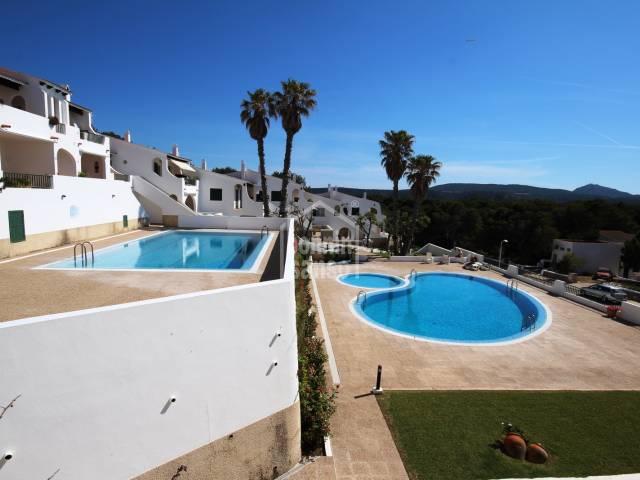 Apartmento en planta baja cerca de  la playa de Son Parc, Menorca