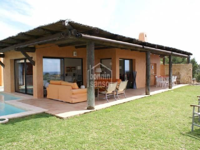 Bio-climatic villa south coast Menorca