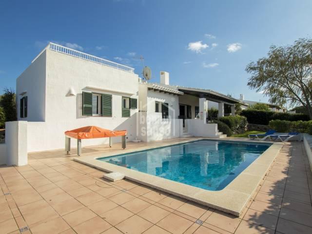 Contemporary villa Binibeca Vell. Menorca