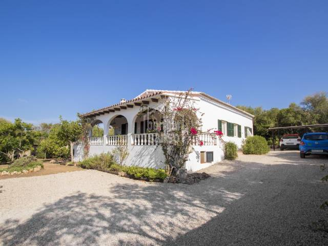 Beautiful country house with a magical garden in Alaior Menorca