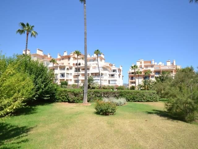 Apartamento con un dormitorio en complejo con piscina en Sa Coma. Mallorca