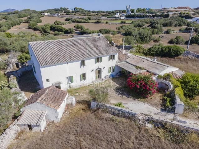Traditional farm near Alayor. Menorca