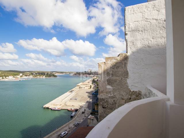 Stunning refurbished ground floor apartment with sea views, Mahon.