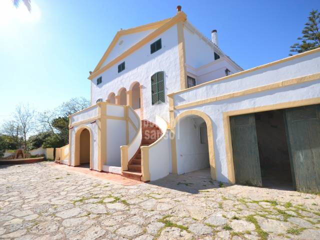 Charismatic old farmhouse in Son Cabrises,Menorca