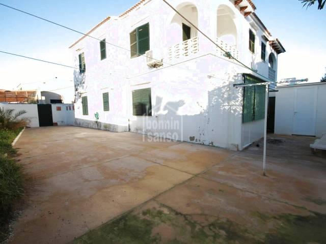 Apartamento en planta baja en Cala Blanca, Ciutadella, Menorca