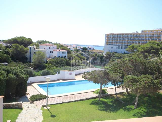 Apartment next to the beach of Calan Forcat, Los Delfines, Ciutadella, Menorca