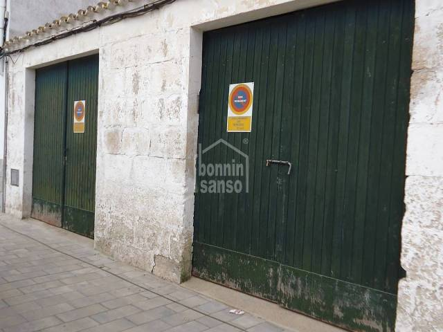 Garage/parking/Buildable in Mercadal (Town)