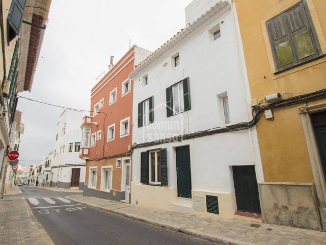 Refurbished Townhouse in the center of Mahon. Menorca
