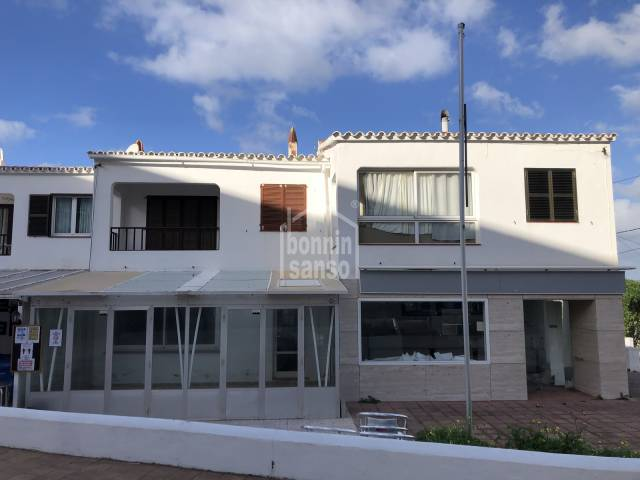 Apartment with communal pool in Calan Porter, Menorca