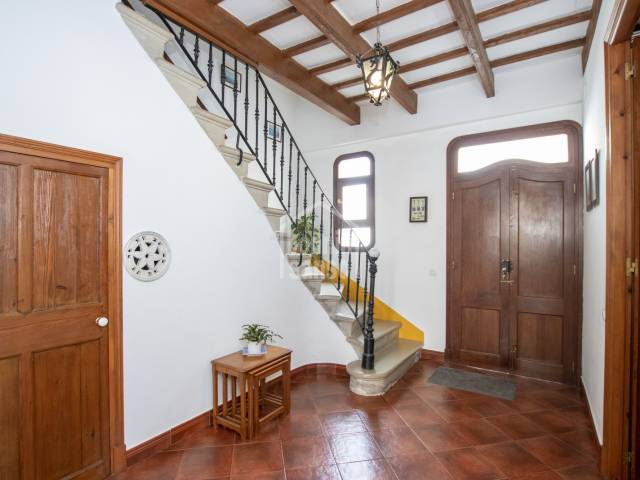 Splendid town house in a privileged location, Es Castell, Menorca