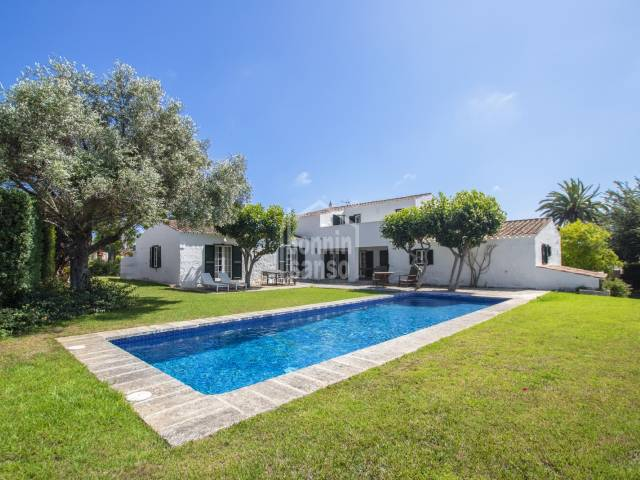 Beautiful country home in the rural environment of Sant Lluis, Menorca