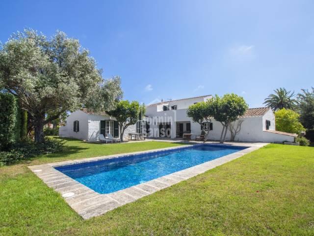 Increible casa de campo en el entorno rural de Sant Lluis -Menorca-