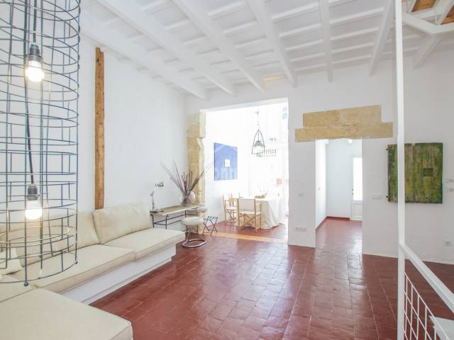 Beautifully restored town house in the centre of Mahon, Menorca