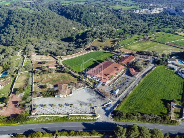Espectacular centro hípico en la zona sur de Menorca
