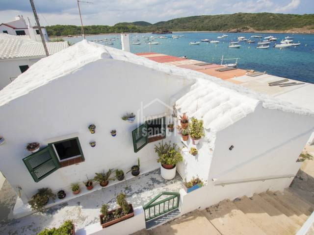 One of Es Grau's first houses, with superb  sea and beach views. Menorca
