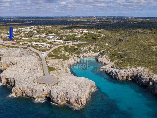 Magnificent front line villa under costruction in Binidali (Menorca)