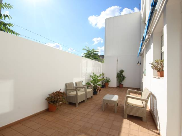 Ground floor property with terrace in Ciutadella, Menorca
