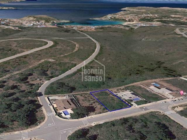 Building plot with sea views. Coves Noves Menorca