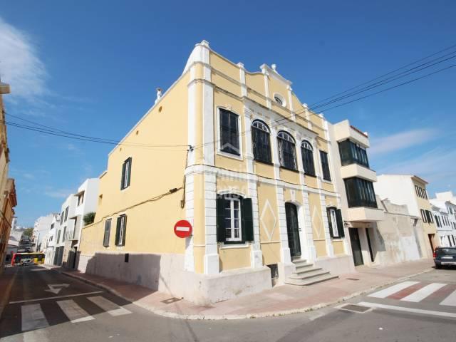 Espectacular casa señorial en zona centro de Mahón