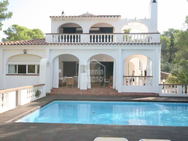 Villa on a double plot of land in Son Parc, Menorca