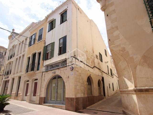 Edificio céntrico en Mahón. Menorca.