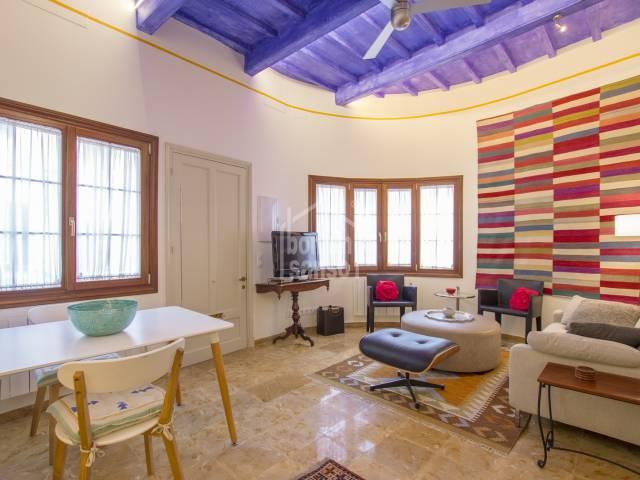 Merveilleux appartement au réez de chaussée avec sous-sol à Mahon, Menorca