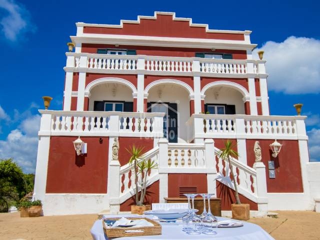 Hôtel avec beaucoup de charme situé à Es Castell, Menorca
