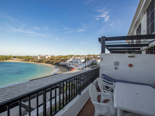 Fabulous sea views over Arenal beach, Menorca