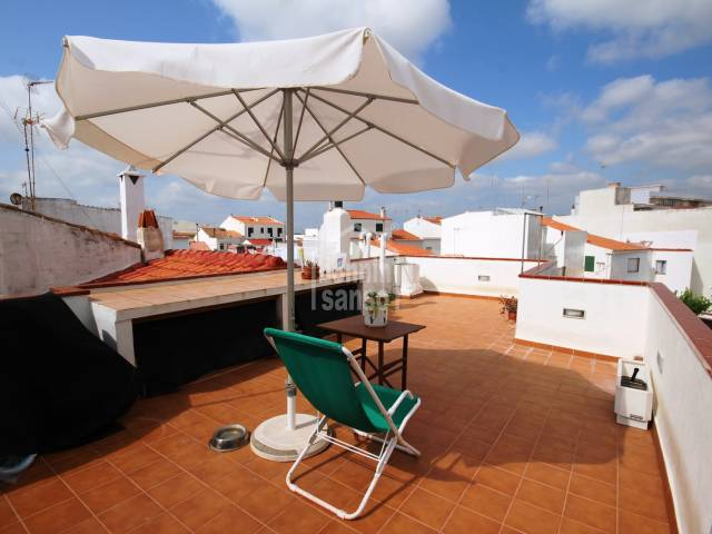 Beautifully kept town house in the centre of Alayor, Menorca