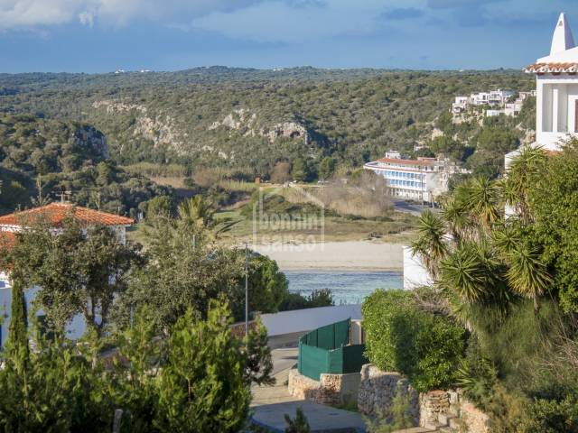 Apartment with views on the Calan Porter beach, Menorca