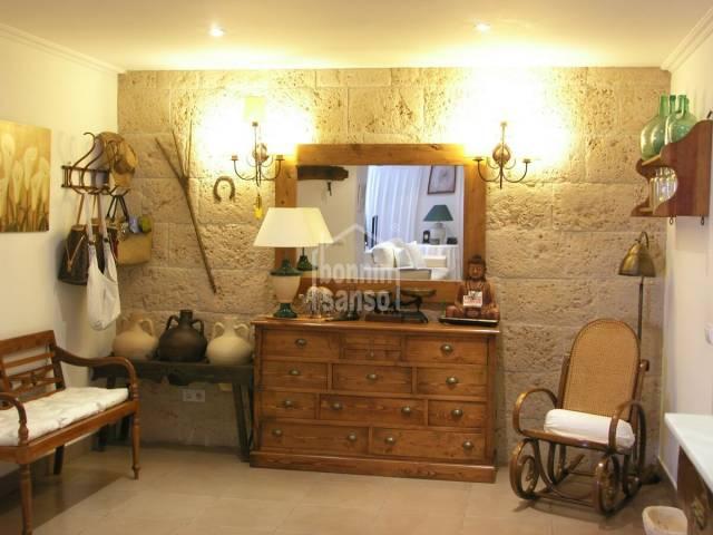 Pretty ground floor apartment in Es Castell