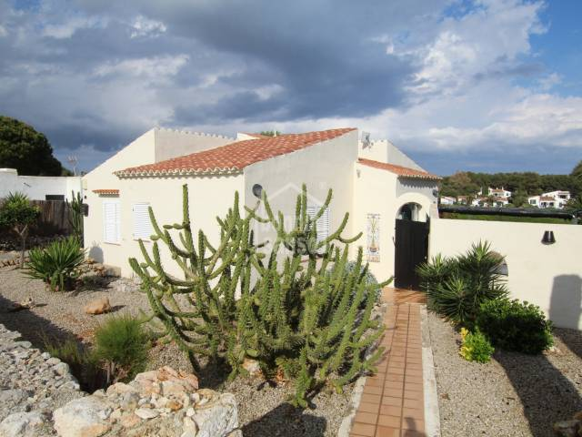 Charming villa with pool in Binibeca, Menorca